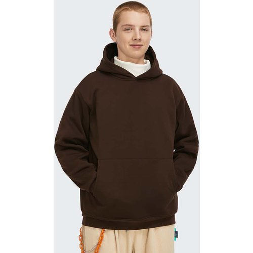 Sweat-shirt à capuche thermique avec poche (sans sac) - SHEIN - Modalova