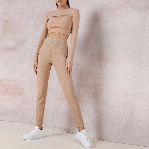 T-shirt court & camisole & pantalon - SHEIN - Modalova
