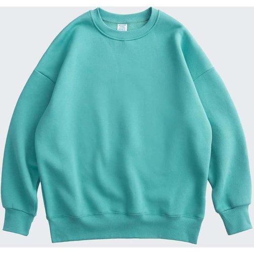Sweat-shirt unicolore - SHEIN - Modalova