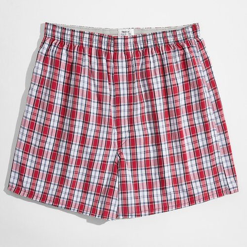 Short de pyjama à carreaux en tartan - SHEIN - Modalova