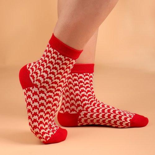 Chaussettes bicolore - SHEIN - Modalova