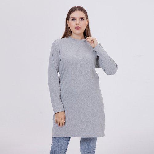 Robe t-shirt unicolore - SHEIN - Modalova
