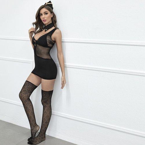 Pièces Body de lingerie avec bas(sans soutien-gorge) - SHEIN - Modalova