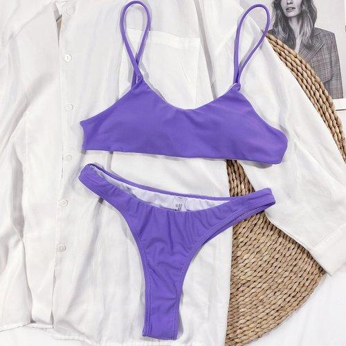 Bikini avec découpe - SHEIN - Modalova