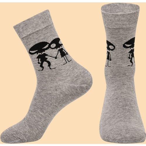 Chaussettes avec imprimé - SHEIN - Modalova