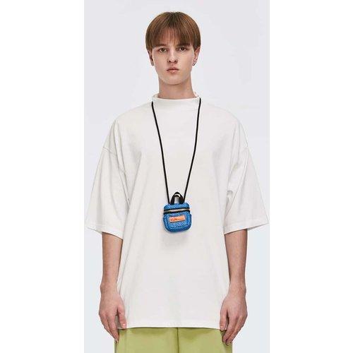 T-shirt petit col montant épaules tombantes sans sac - SHEIN - Modalova