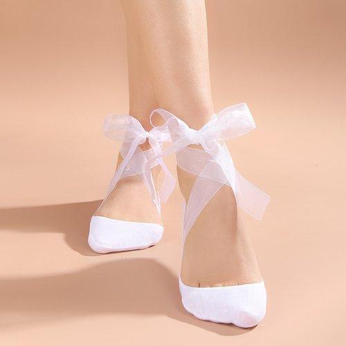 Chaussettes invisibles avec ruban - SHEIN - Modalova