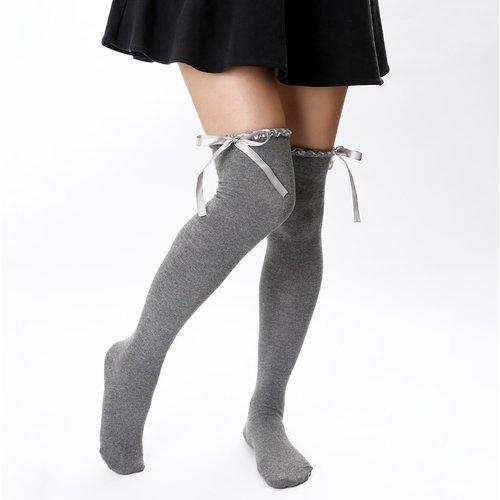 Chaussettes avec nœud - SHEIN - Modalova