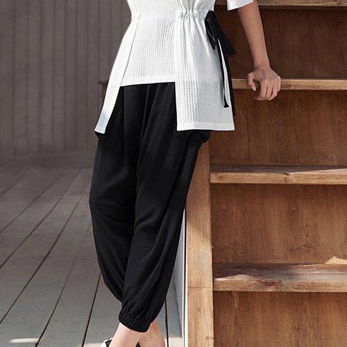 Sarouel avec poches - SHEIN - Modalova