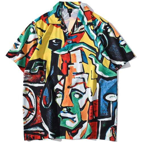 Chemise tunique à imprimé - SHEIN - Modalova