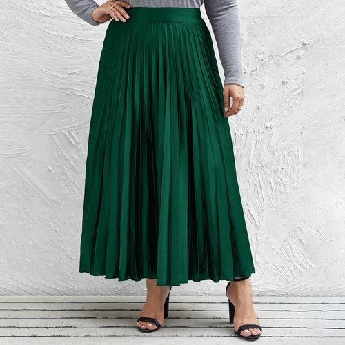 Jupe plissée taille haute - SHEIN - Modalova