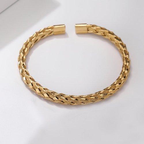 Homme Bracelet manchette tressé - SHEIN - Modalova