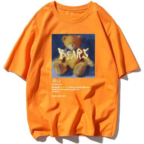 T-shirt avec motif ours - SHEIN - Modalova