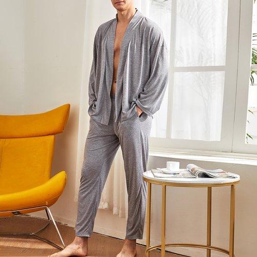 Ensemble de pyjama top & pantalon - SHEIN - Modalova
