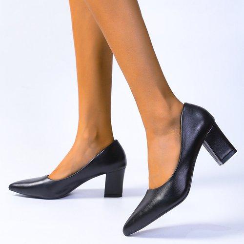 Chaussures à talon épais minimalistes - SHEIN - Modalova