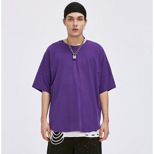 T-shirt unicolore - SHEIN - Modalova