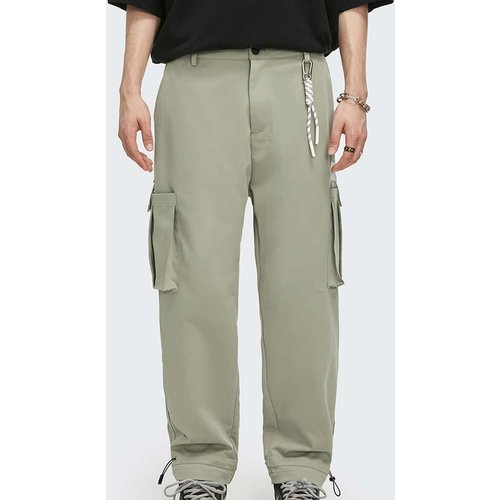 Pantalons Boutons Style de rue Unicolore - SHEIN - Modalova