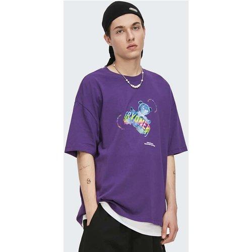 T-shirt avec motif cartoon - SHEIN - Modalova