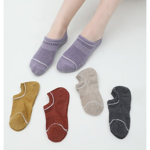Paires Chaussettes invisibles à rayures - SHEIN - Modalova