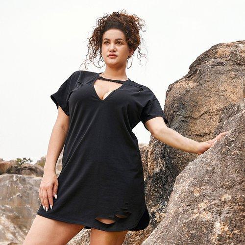 Robe t-shirt - SHEIN - Modalova