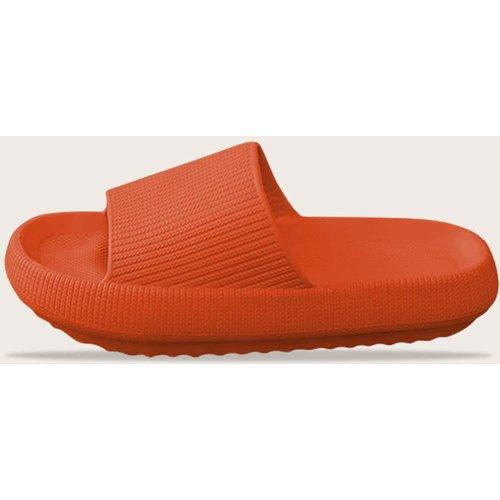Pantoufles minimalistes à bout ouverts - SHEIN - Modalova