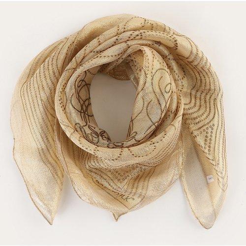 Écharpe en soie mélangée - SHEIN - Modalova