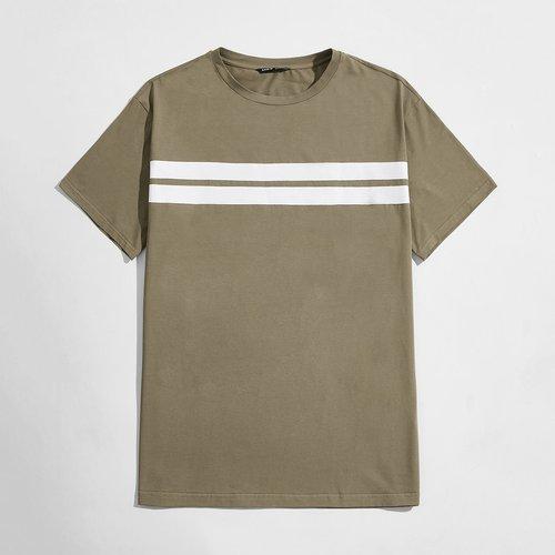 T-shirt à rayures - SHEIN - Modalova