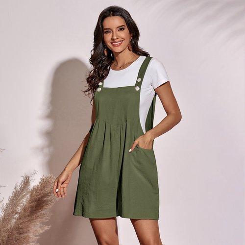 Combinaison salopette avec poche (sans t-shirt) - SHEIN - Modalova