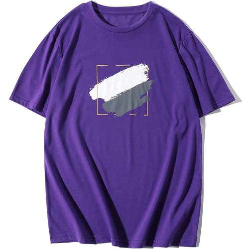 T-shirt avec imprimé graphique - SHEIN - Modalova