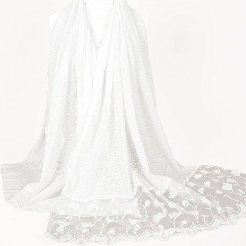 Écharpe en maille contrastée - SHEIN - Modalova