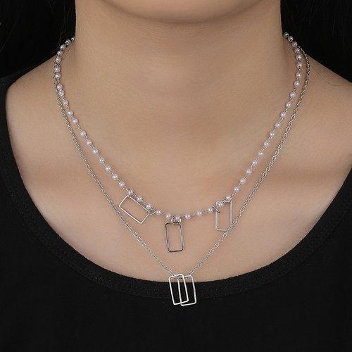 Collier à perle - SHEIN - Modalova