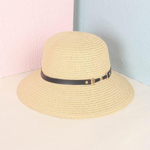 Chapeau de paille minimaliste - SHEIN - Modalova