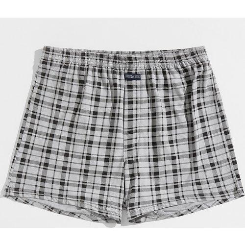 Short de pyjama à carreaux - SHEIN - Modalova