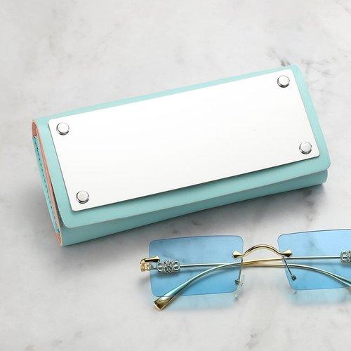 Coque à lunettes avec miroir - SHEIN - Modalova