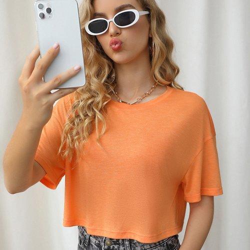 T-shirt court - SHEIN - Modalova