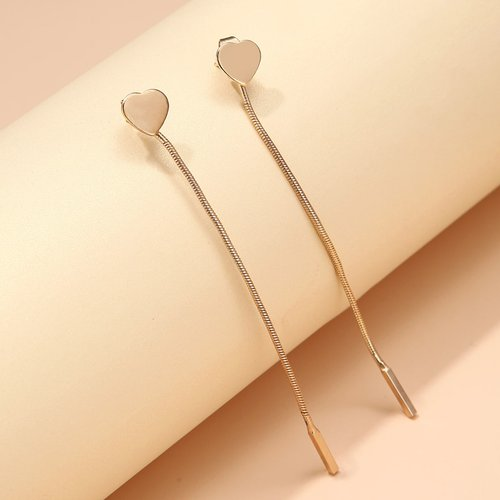 Boucles d'oreilles avec métal - SHEIN - Modalova