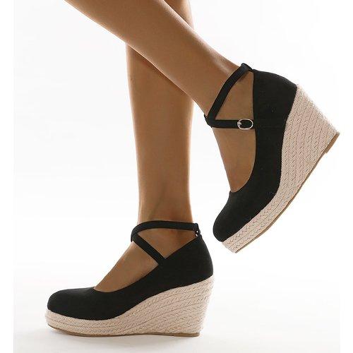 Chaussures compensées espadrilles minimaliste - SHEIN - Modalova