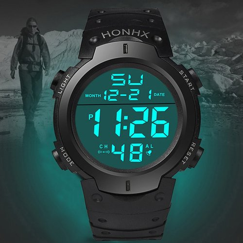 Montre électronique chronographe - SHEIN - Modalova