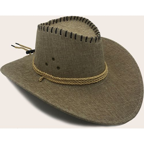 Homme Chapeau de cowboy simple - SHEIN - Modalova