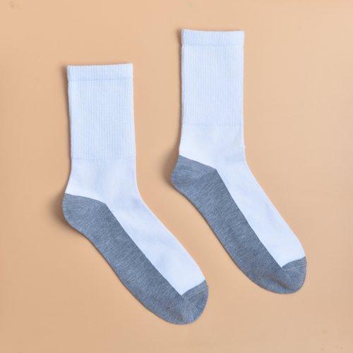 Homme Chaussettes bicolore - SHEIN - Modalova