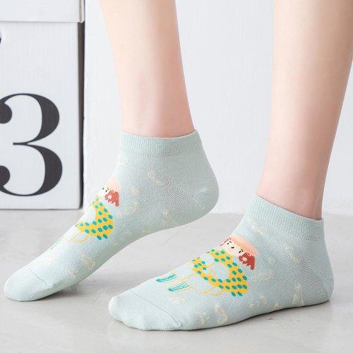 Chaussettes avec imprimé figure - SHEIN - Modalova