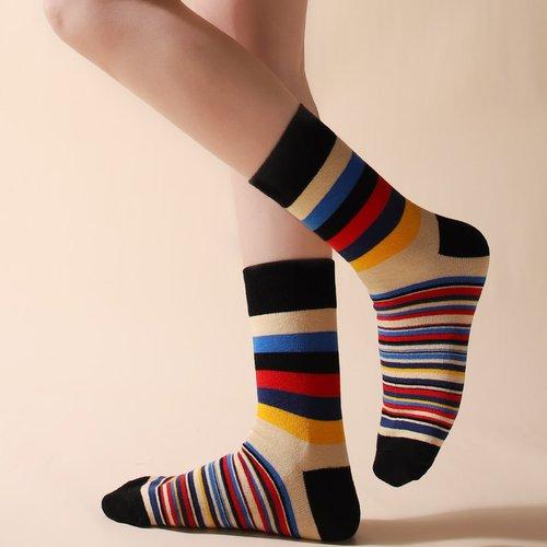 Chaussettes à rayures - SHEIN - Modalova
