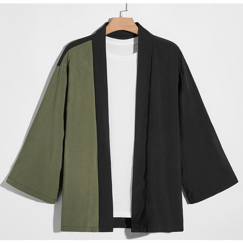 Kimono bicolore - SHEIN - Modalova