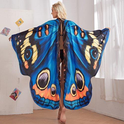 Papillon Cape Costume - SHEIN - Modalova