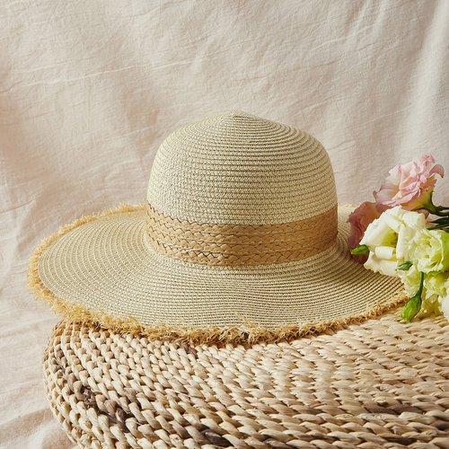 Chapeau de paille - SHEIN - Modalova