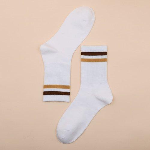 Homme Chaussettes à rayures - SHEIN - Modalova