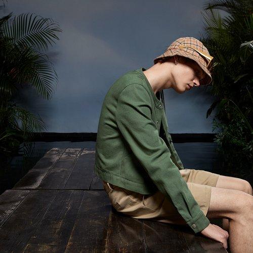 Homme Veste à poche à bouton - SHEIN - Modalova