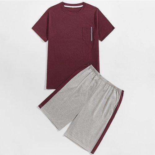 Ensemble de pyjama t-shirt et short - SHEIN - Modalova
