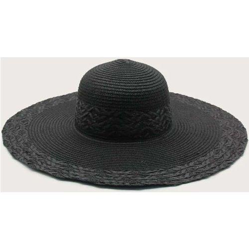 Chapeau de paille unicolore - SHEIN - Modalova