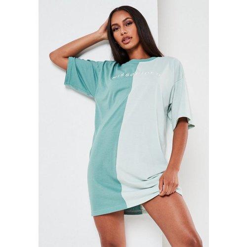 Robe t-shirt kaki oversize  - Missguided - Modalova